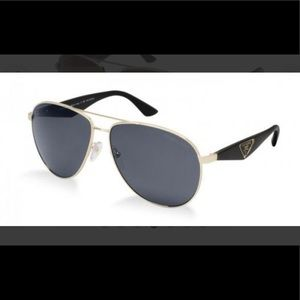Prada polarized Aviator sunglasses.